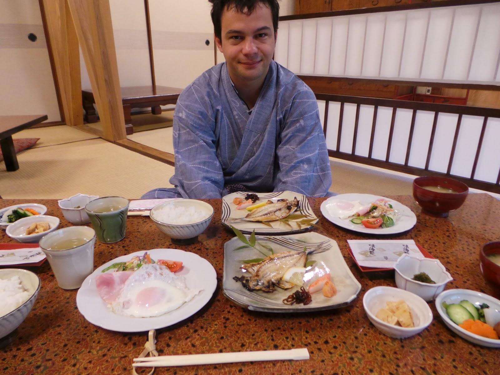 Petit déjeuner Japon