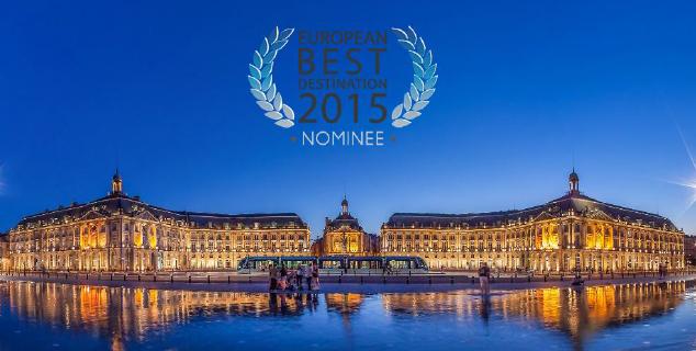 Bordeaux en Lice pour l'European Best Destination 2015