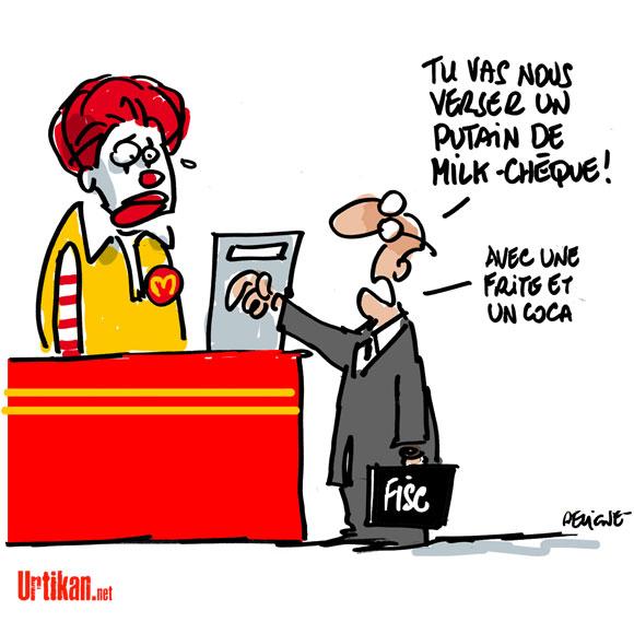 McDonald's, la Grande Evasion Fiscale