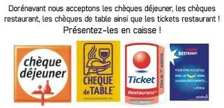 Les titres-restaurants, qui permettent à un salarié d'acquitter en tout ou partie le prix d'un repas consommé ou