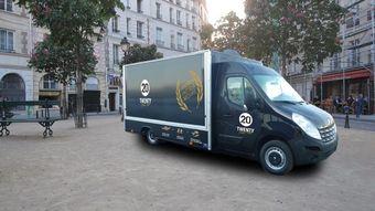 Elior Lance « Twenty » son Premier Food Truck
