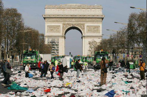 Paris, ville sale
