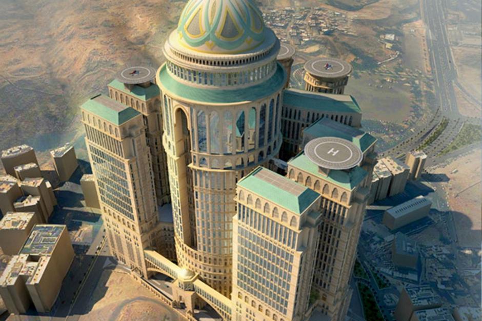 Le plus grand hôtel du monde ouvrira à La Mecque