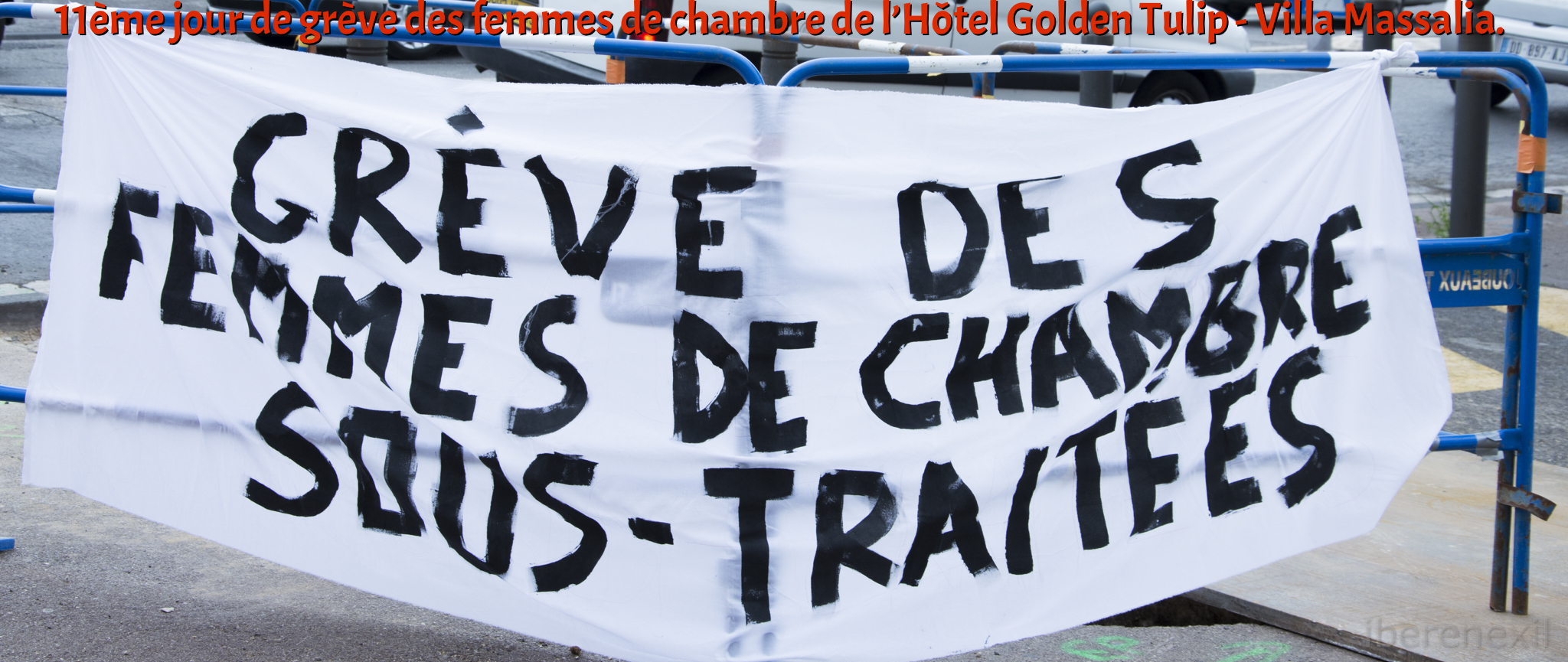 Intercontinental Marseille : les femmes de chambre en grève