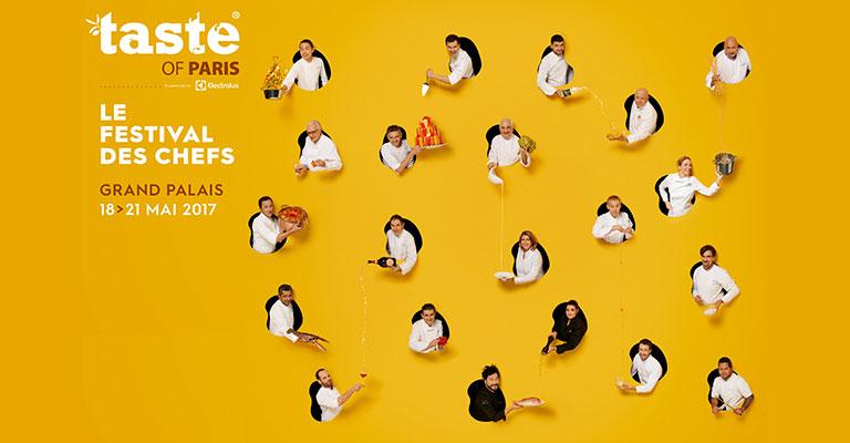 Le nouveau Casting des chefs de Taste of Paris 2017 enfin dévoilé