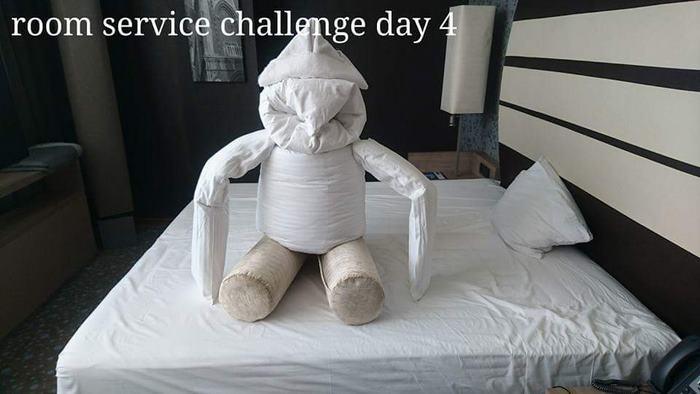 Un client ennuyé à l'hôtel crée des « défis » pour les femmes de chambre