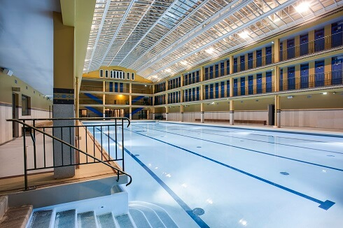 Les plus belles piscines intérieures d'hôtels