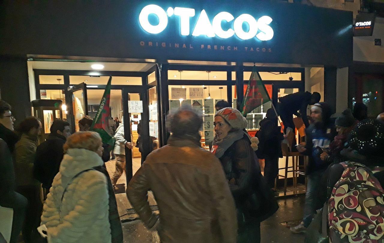 O'TACOS: l'exploitation et la violence, ça suffit!