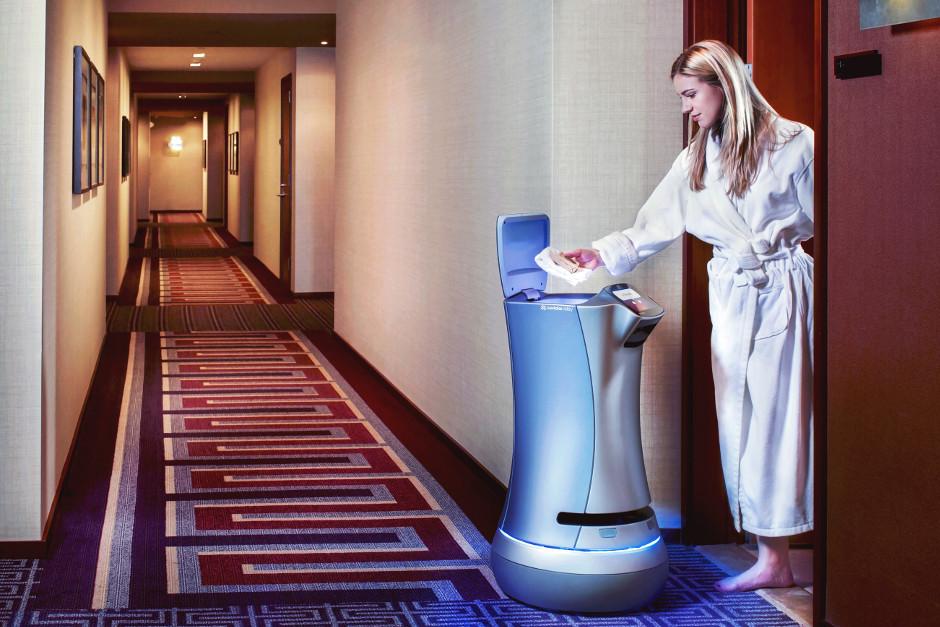 Les robots hôteliers se multiplient dans les couloirs