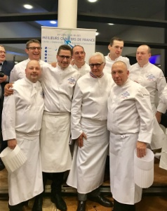 Sujet du MOF Cuisine Gastronomie 2018