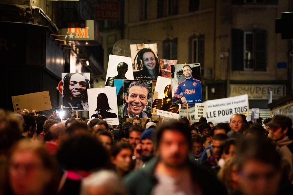 Hommage à deux salariés de l'hotellerie décédés dans l'effondrement de l'immeuble à Marseille
