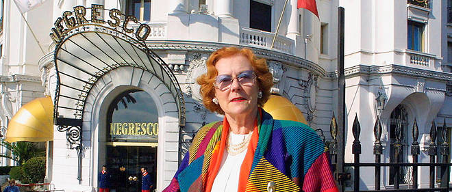 Mort de la propriétaire du palace Negresco de Nice