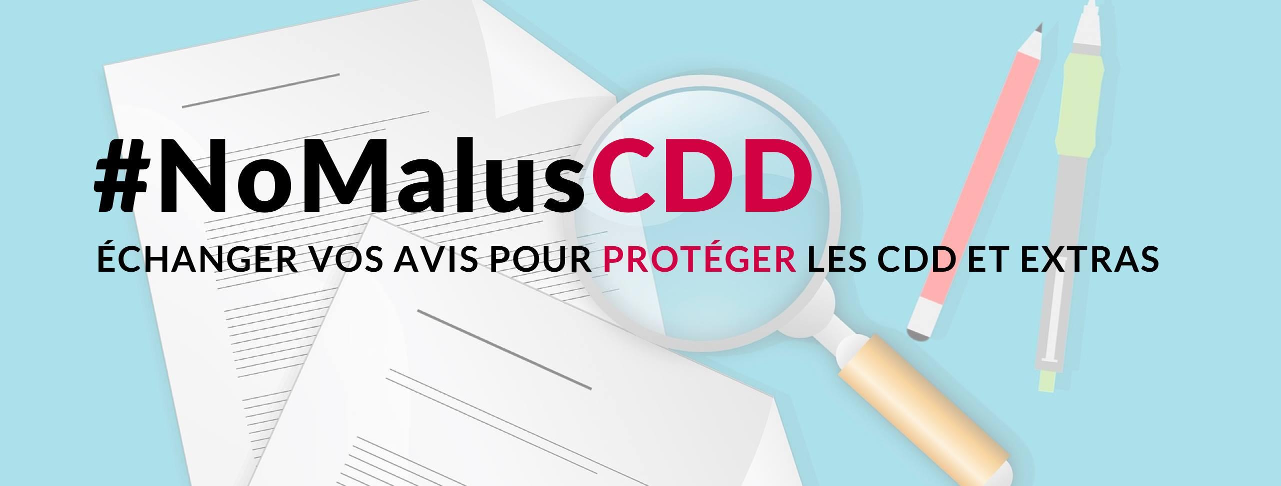 Défendons nos CDD et contrats courts contre tout malus