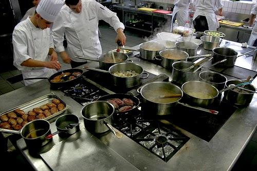 Les habitudes des cuisiniers !!!