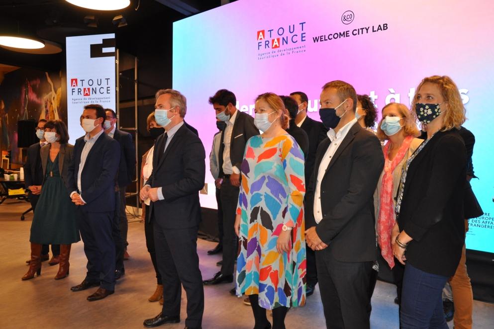 Atout France et Welcome City Lab dénichent dix pépites innovantes pour la relance post-Covid