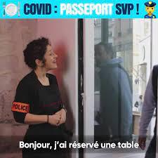Réouverture des restaurant ! Passeport svp !