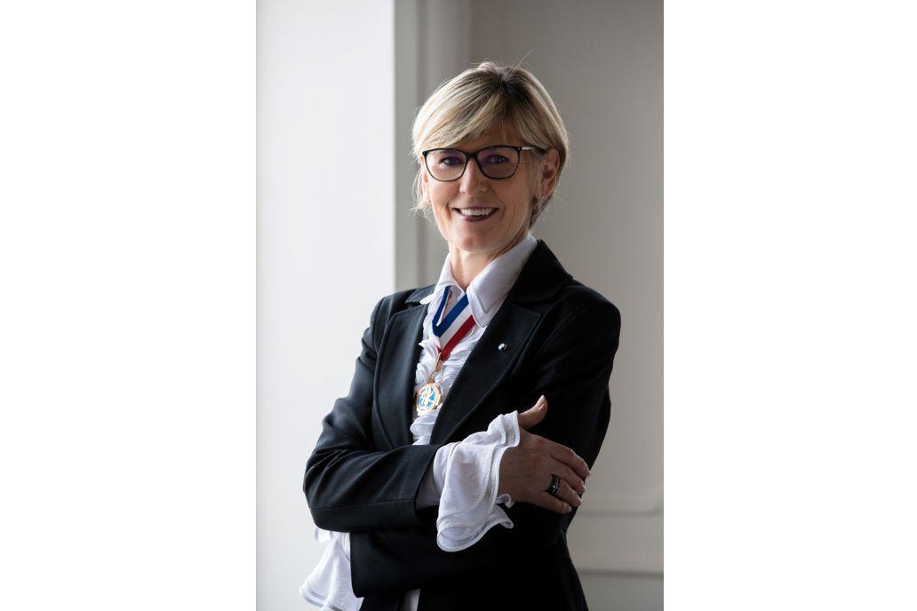 Chantal Wittmann directrice des formations aux Arts du Service et de la Table à l'Ecole Ducasse
